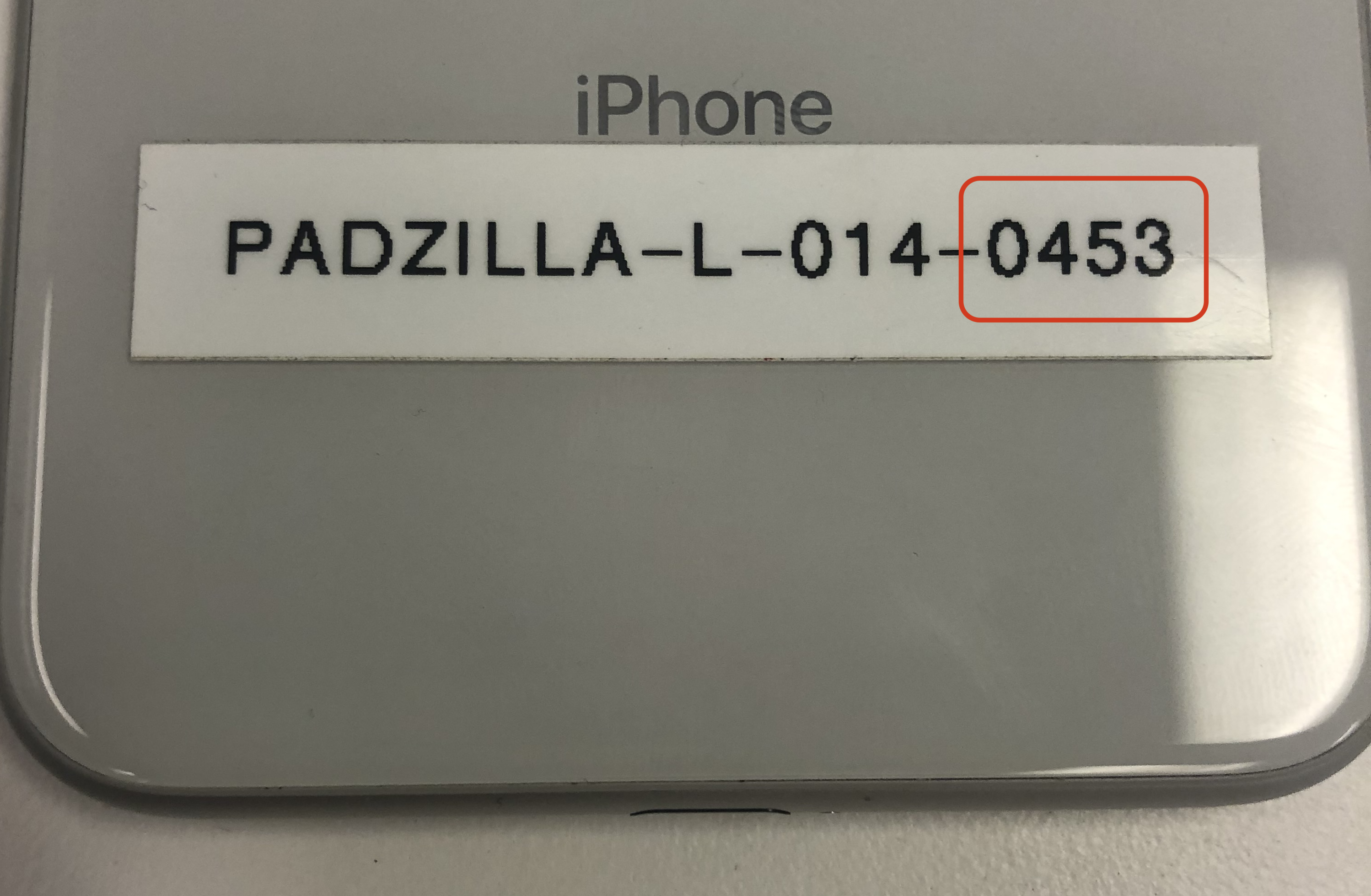 The Last 4 Digits Of The Padzilla's Unit Number